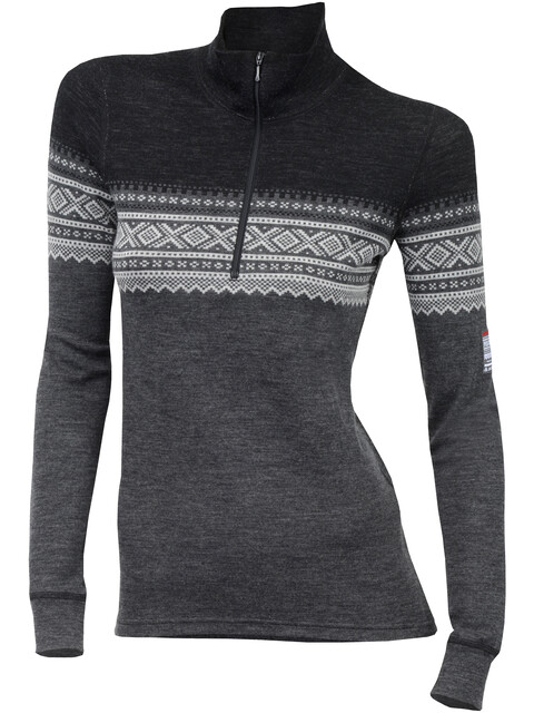 Aclima DesignWool Marius Mock Neck Shirt Women Norefjell